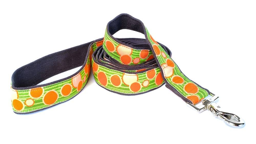 EARTH DOG EARTH DOG ZANDER HEMP LEASH 6' x 1""