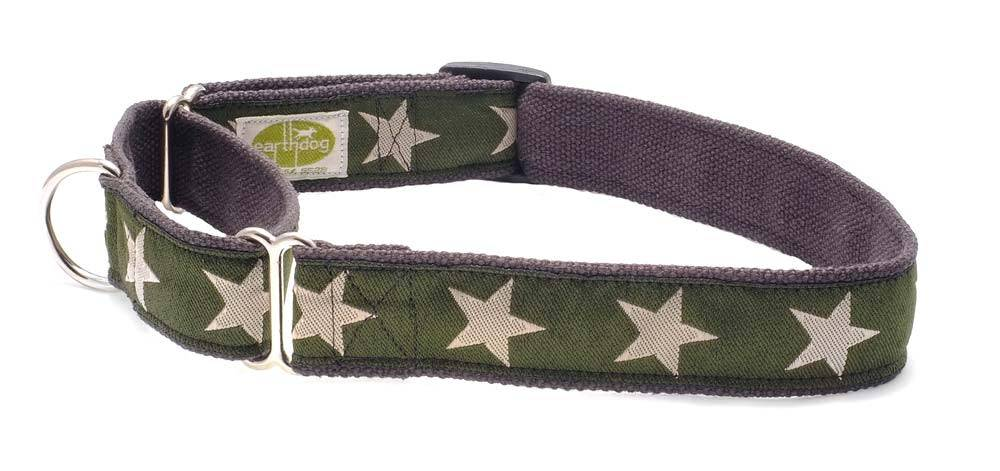 EARTH DOG EARTH DOG KODY HEMP MARTINGALE COLLAR