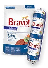 BRAVO BRAVO TURKEY BALANCE CHUB 2lb