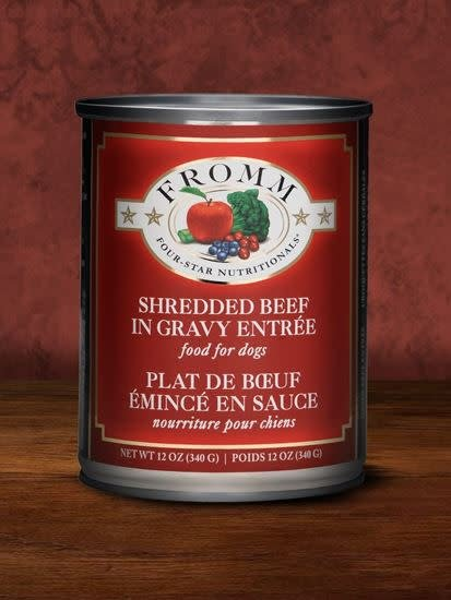 FROMM FROMM SHREDDED BEEF IN GRAVY ENTREE