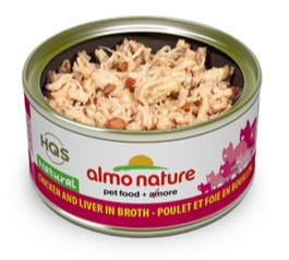 ALMO NATURE ALMO NATURE CHICKEN AND LIVER IN BROTH