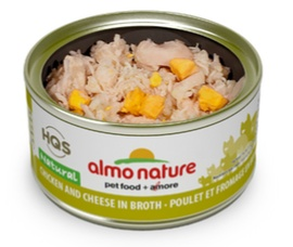 ALMO NATURE ALMO NATURE CHICKEN AND CHEESE IN BROTH