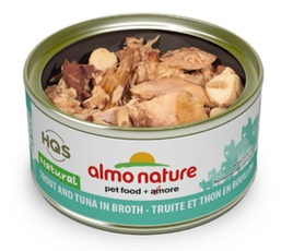 ALMO NATURE ALMO NATURE TROUT AND TUNA IN BROTH