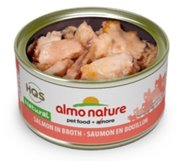 ALMO NATURE ALMO NATURE SALMON IN BROTH
