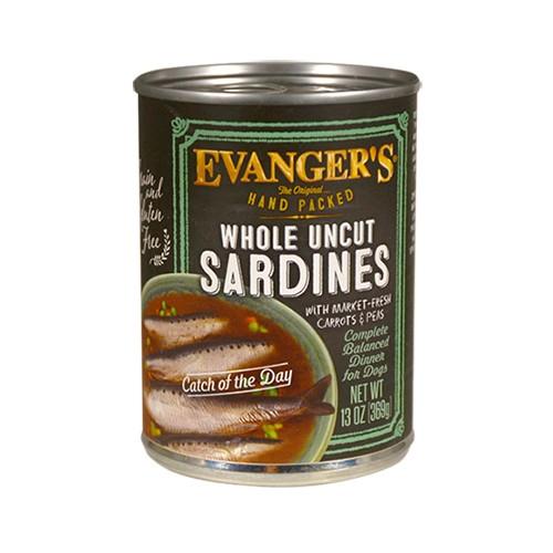 EVANGERS EVANGERS WHOLE UNCUT SARDINES