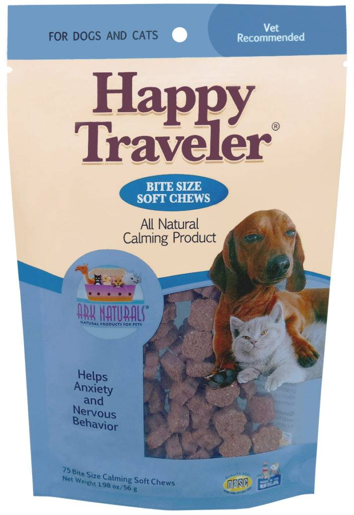 ARK NATURALS ARK NATURALS HAPPY TRAVELER SOFT CHEWS 75ct