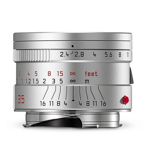 35mm / f2.4 ASPH Summarit Silver (E46) (M)