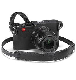 Camera Strap - Black Leather M & X