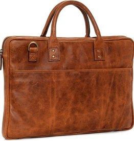 ONA: Leather Kingston Antique Cognac Bag