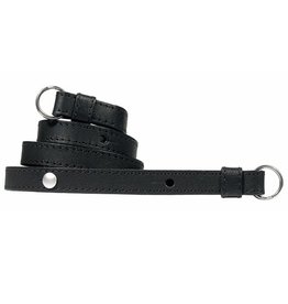 Strap: Traditional Black Saddle Leather w/ Neck Pad