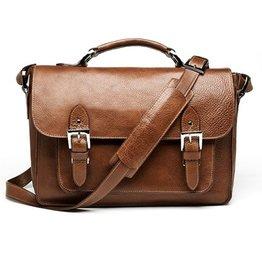 ONA: Brooklyn SLR Satchel Chestnut Bag