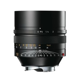 50mm / f0.95 ASPH Noctilux Black Anodized (E60) (M)