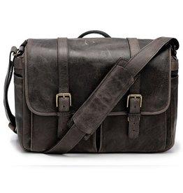 ONA: Leather Brixton Dark Truffle Bag