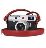 Strap: Red Leather w/ Neck Pad