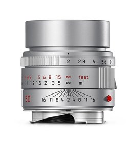 50mm / f2.0 APO ASPH Summicron Silver Anodized (E39) (M)