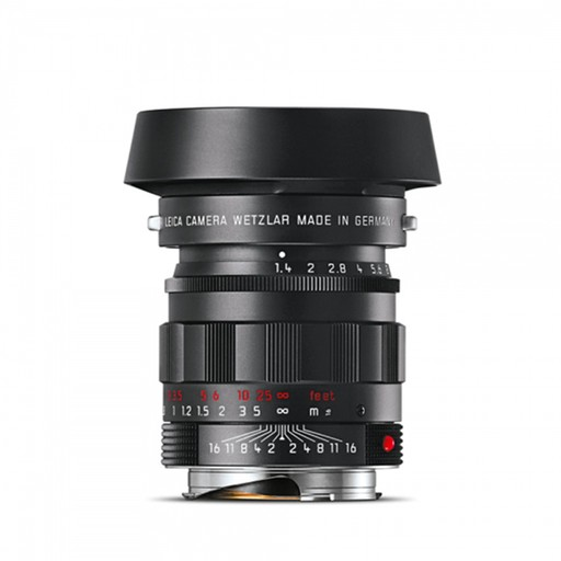 50mm / f1.4 ASPH Summilux Black Chrome (E43) (M)