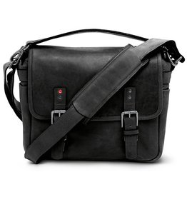 ONA for Leica: Leather Berlin II Black Bag