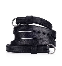 Strap: Traditional Black Ostrich Look w/ Neck Pad