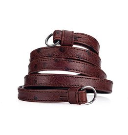 Strap - Traditional Chestnut Ostrich Look