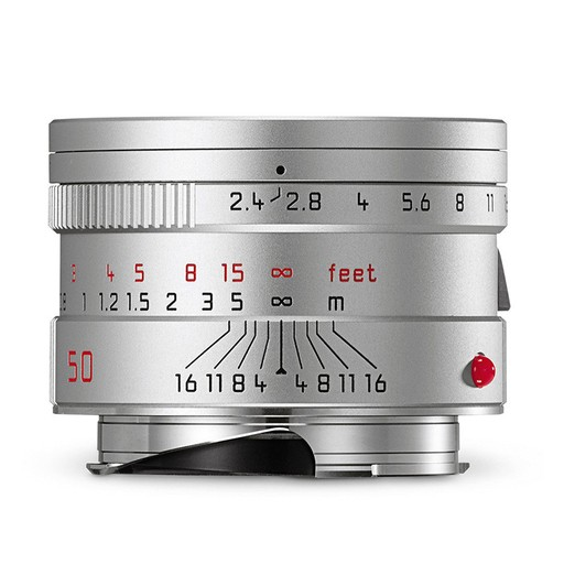 50mm / f2.4 Summarit Silver ((E46) M)