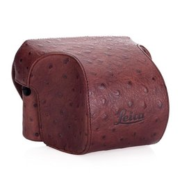 Case - Ever Ready Chestnut Ostrich Look