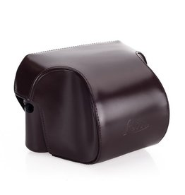 Case - Ever Ready Dark Brown Box Calf Leather