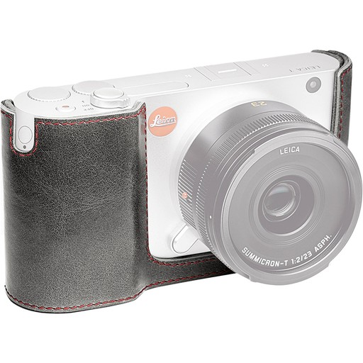 Camera Protector - Stone Grey Leather (TL)