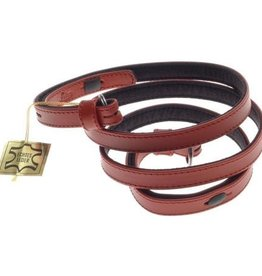 Strap - Traditional Red Box Calf Leather