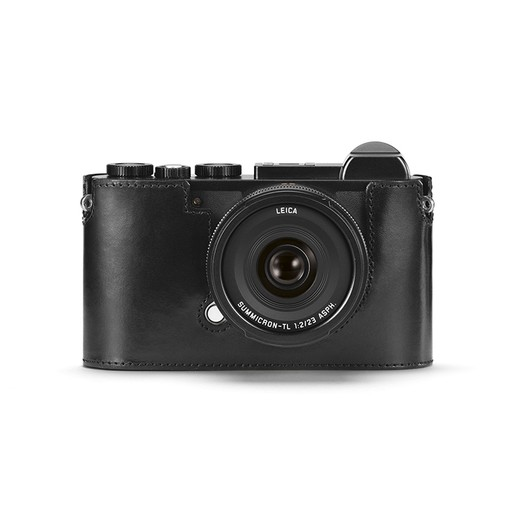 Camera Protector - Black Leather CL