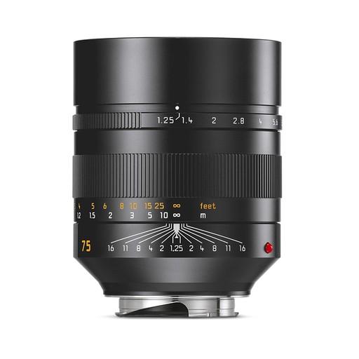 75mm / f1.25 ASPH Noctilux Black Anodized (E67) (M)