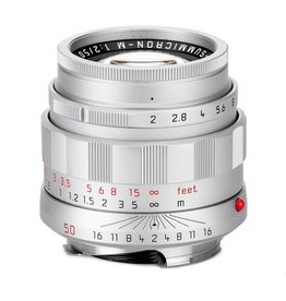 LHSA 50mm / f2.0 APO ASPH Summicron Silver Chrome (E39) (M)