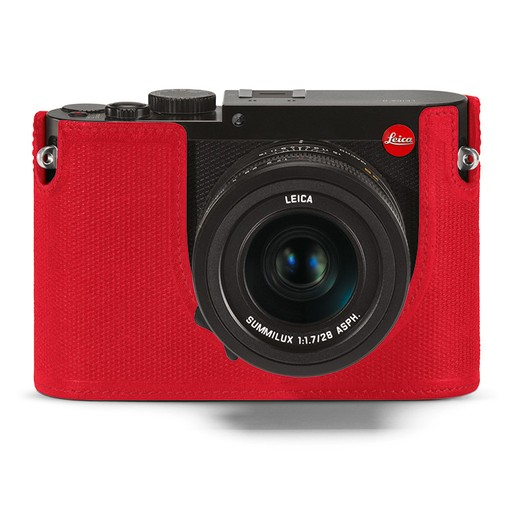 Camera Protector - Leather Red Q (Typ 116)