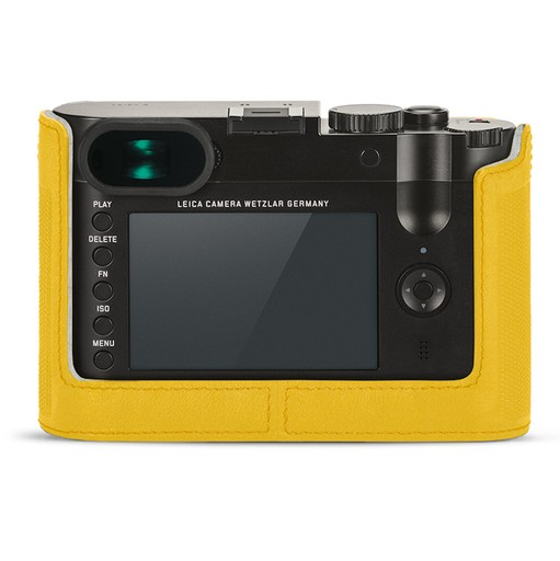 Camera Protector - Leather Yellow Q (Typ 116)