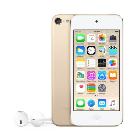 iPod Touch 6TH Gen 32GB Gold Certified Open Box