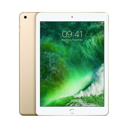 iPad 5th Gen / 9.7 Retina Display / A9 Chip /  Wi-Fi /  128GB /  Gold / Certified Open Box
