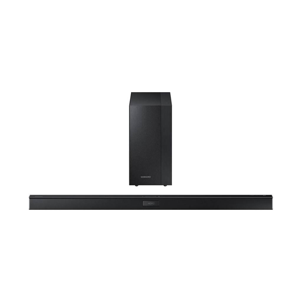 HW-KM45C 35.8-in / 2.1 Channel Soundbar with Wireless Subwoofer  / 300 watts Certified Openbox
