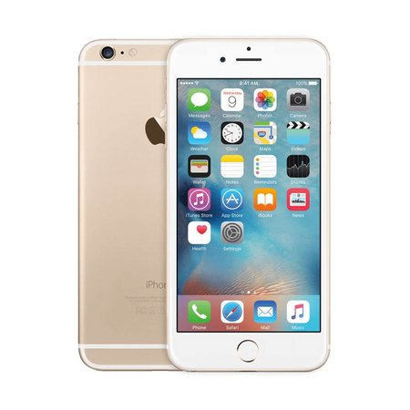 iPhone 6 / 16GB Gold (90 Days Warranty)Certified Open Box
