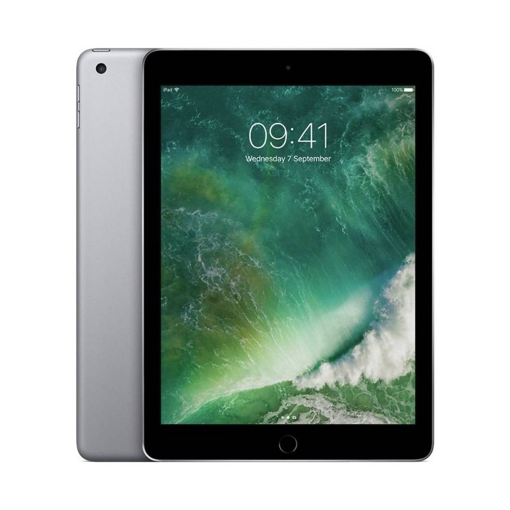 iPad 5th Gen / A9 Chip / 128GB / Space Grey / 9.7-in Retina Display / iOS 10 /Certified Open Box