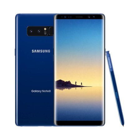 Galaxy Note 8 Deep Sea Blue Smartphone / 64GB (90 Days Warranty)Certified Open Box