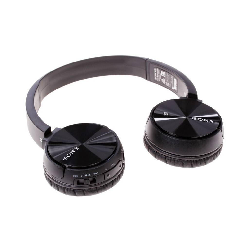 MDR-ZX330BT On-Ear Bluetooth Headphones - Black