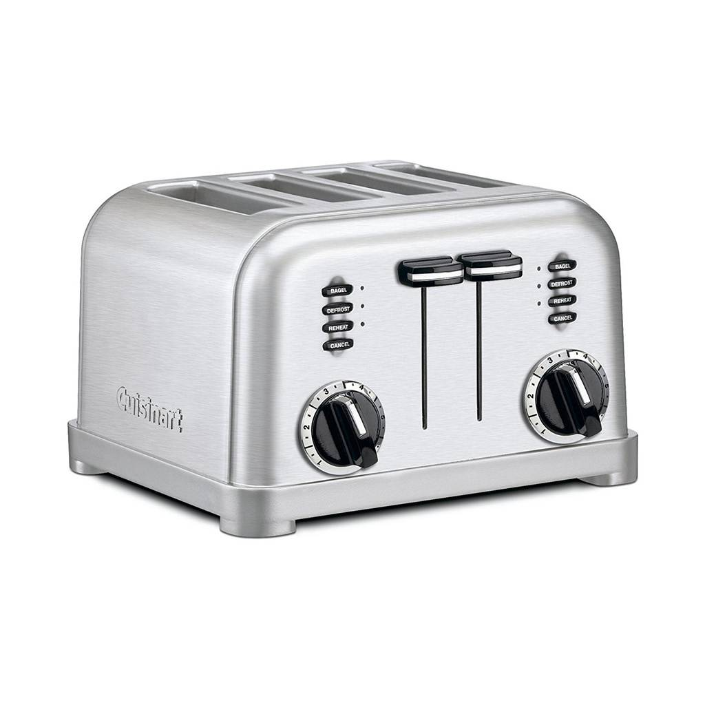 CPT-180 Metal Classic 4-Slice Toaster / Brushed Stainless (Brand New)
