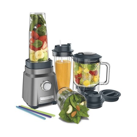 CPB-380C Hurricane Compact Blender, Gun Metal (Brand New)