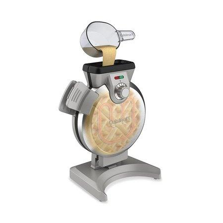 WAF-V100C Vertical Waffle Maker / Silver (Brand New)