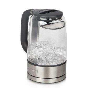 GK-17C ViewPro 1.7 L Glass Kettle / Silver (90 Days Warranty)