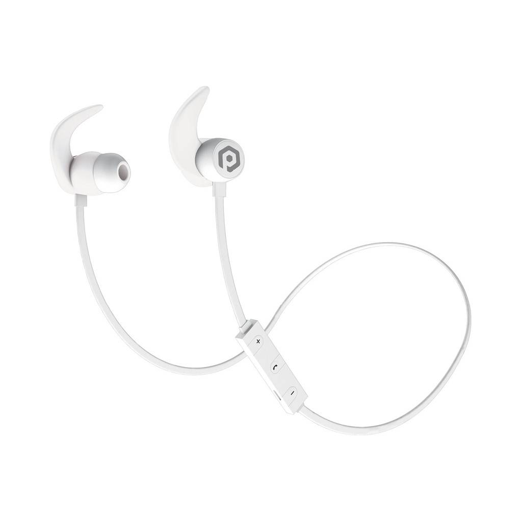 Pom Gear X Fit Sport Bluetooth Earbuds White Openboxca Headset