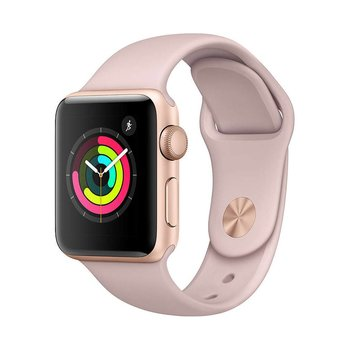 Apple Watch Series 3 38mm GPS Gold with Pink Sand Sport Band