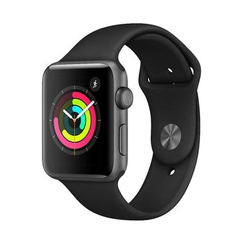 Apple Watch Series 3 42mm GPS Space Grey with Grey Sport Band