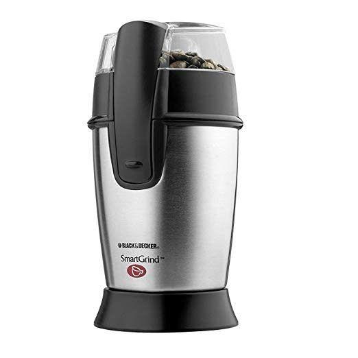 Black & Decker Smartgrind Stainless Steel Coffee Bean Grinder CBG100SC
