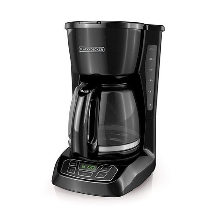 Black & Decker Programmable 12 Cup Coffee Maker CM1105BC - Black