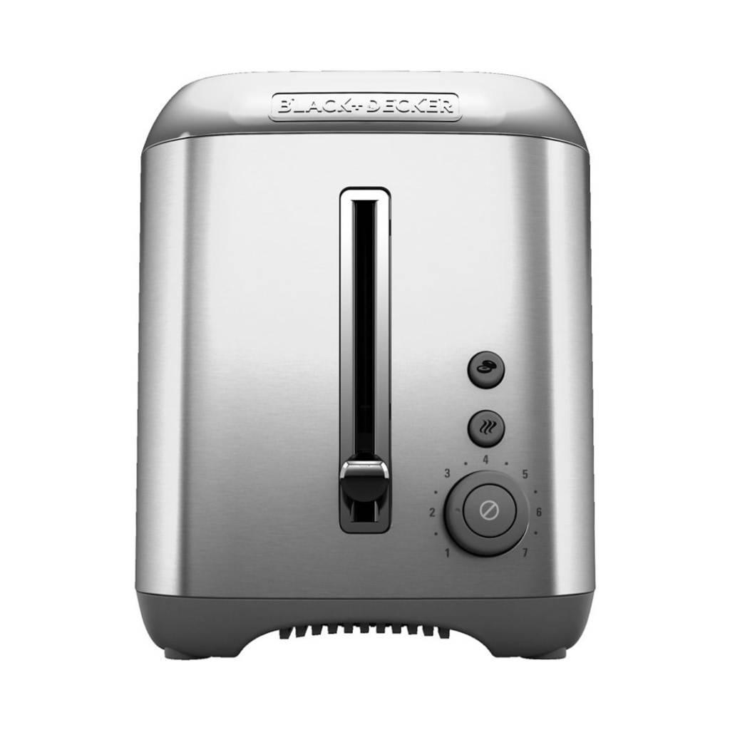 Black & Decker Stainless Steel 2-Slice Toaster TR3490SKT